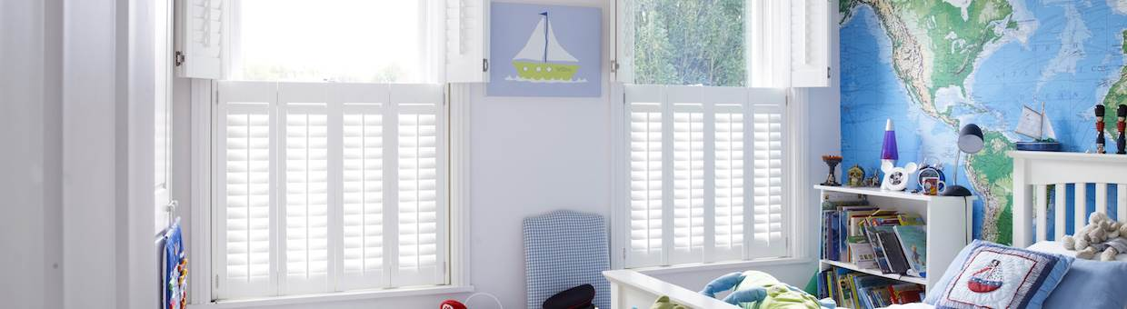 Interior shutters in Cheshire